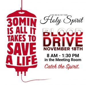 Blood Drive @ Holy Spirit Meeting Room | Louisville | Kentucky | United States