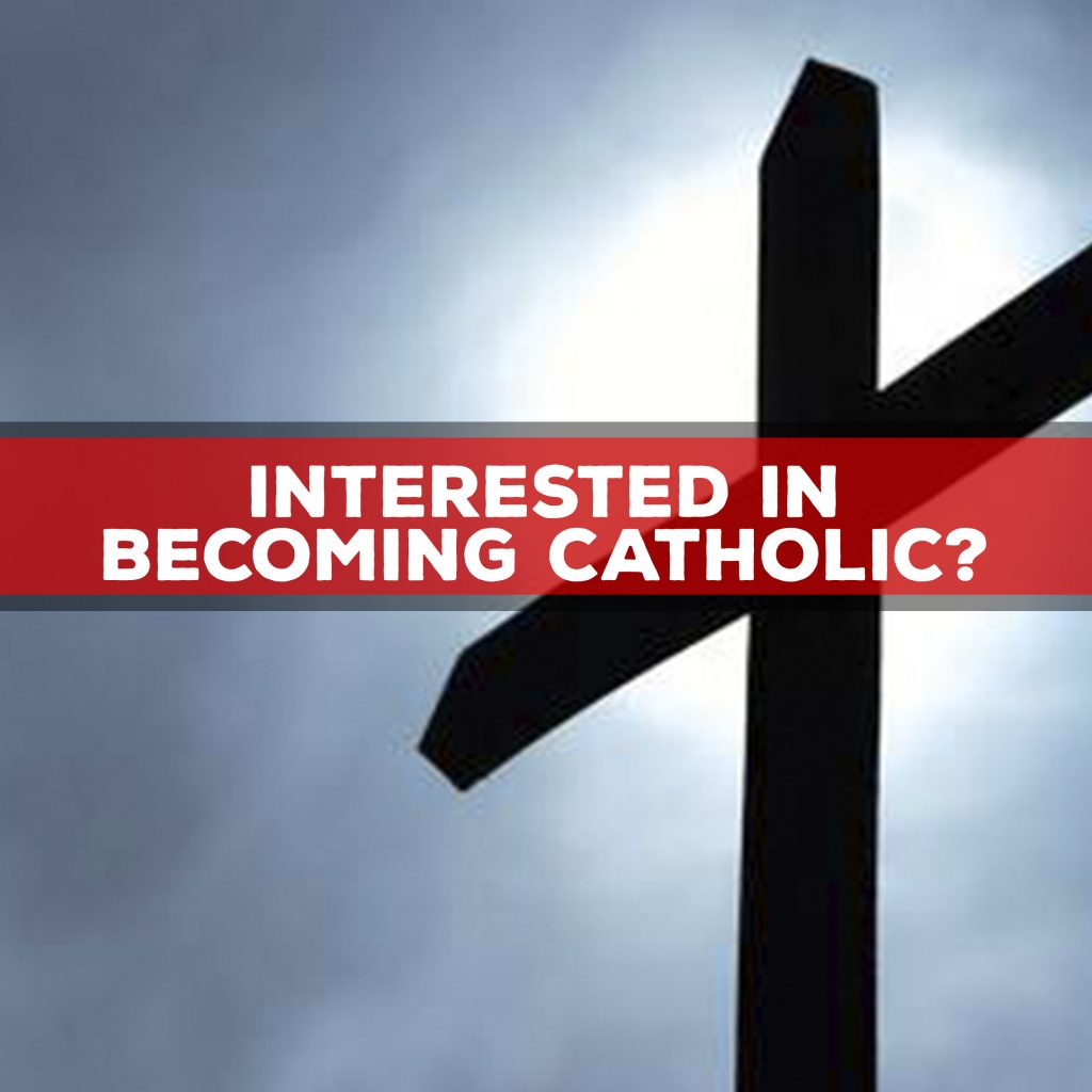 Interested In Becoming Catholic Holy Spirit School