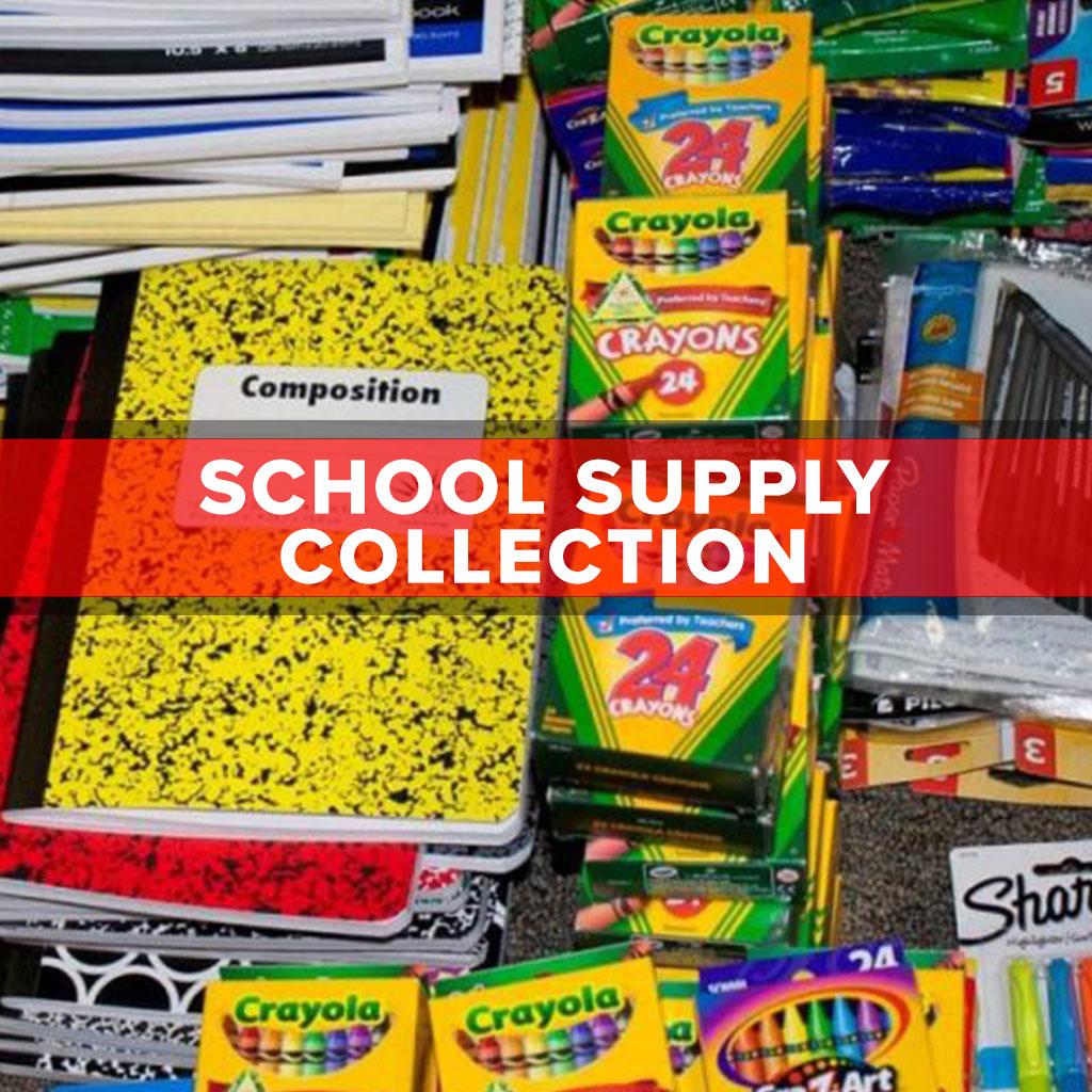 School Supply Collection Holy Spirit School Louisville Ky